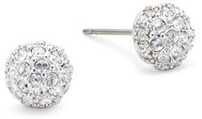 womens earrings swarovski women s earrings 1730583 co uk jewellery