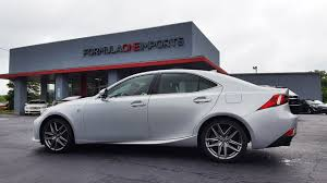 lexus used cars charlotte nc 2014 lexus is350 f sport for sale formula one imports