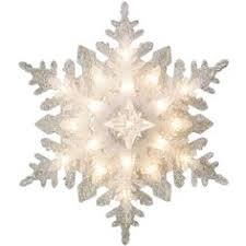 home depot ge christmas lights ge holiday classics silver glittered snowflake tree topper 71241hd