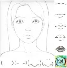 How To Draw A World Map Learn How To Draw Noses Cute As A Button In 4 Simple Steps Kat