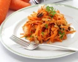 cuisiner pour une personne recette de salade de carottes râpées aux raisins secs pour 1 personne