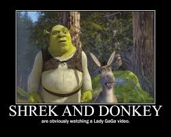 shrek and donkey by firelightrain on deviantart