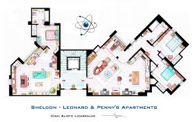 Floor Plan Of by Hand Drawn Floor Plans Of Your Favorite Tv Shows By Shyree On