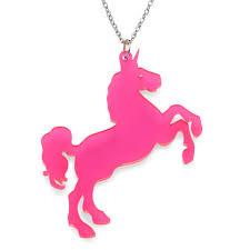 Acrylic Name Necklace Acrylic Unicorn Necklace Mynamenecklace Uk