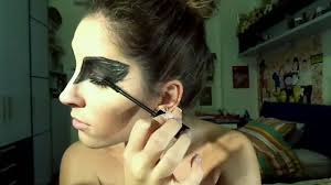 black swan halloween makeup halloween 2016 serie the black swan make up tutorial youtube