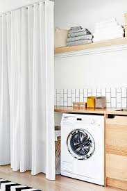 Laundry Room Curtain Decor Laundry Room Curtains Decor Design And Ideas Sustainable Pals