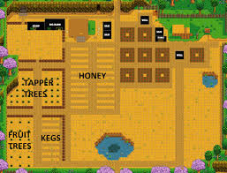 Farmhouse Layout by Potential Layout Stardew Valley Pinterest Video Games