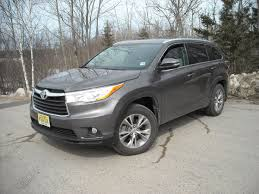 on the road review toyota highlander xle the ellsworth