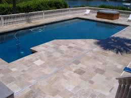 pool fetching image of backyard landscaping decoration using