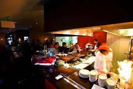 open kitchen hospitality interior design of barbrix restaurant
