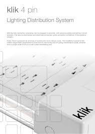 Lighting Connection Hager Klik Lighting Connection U0026 Control Catalogue
