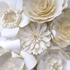 Wedding Wall Decor Paper Flower Wedding Reception Wall Ideas Mid South Bride