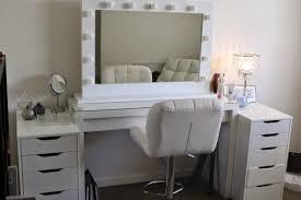 Makeup Vanity Table Furniture Homeowner Furniture White Ikea Makeup Vanity Set With Lighting And