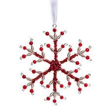 snowflake ornament snowflake shape simple elegance and ornament
