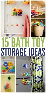 bathroom toy storage ideas 15 ways to store bath toys and magically declutter your bathroom
