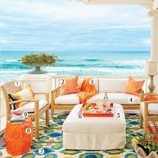 Coastal Themed Kitchen - coffee tables beach house rugs indoor beach themed bathroom rug