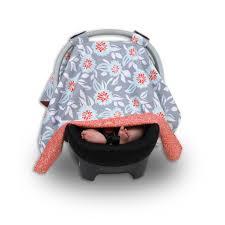 Universal Car Seat Canopy by Balboa Baby Car Seat Canopy Grey Dahlia Toys