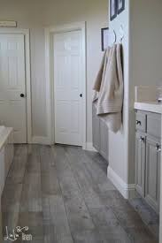 Bathroom With Wood Tile - 8 tips for nailing the wood tile look little green notebook