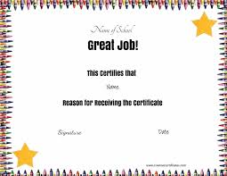 free certificates u0026 awards