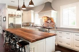 wood top kitchen island wood top island houzz