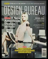 design bureau magazine write ups press publications