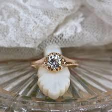 antique diamond engagement rings perfect antique diamond engagement ring in yellow gold belcher