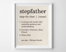 step fathers day gifts stepfather definition personalized cotton print bonus