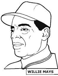 jackie robinson coloring page jackie robinson baseball player