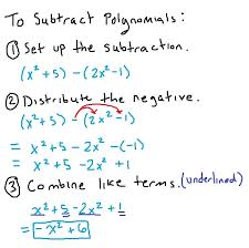all worksheets adding subtracting and multiplying polynomials