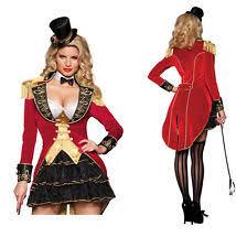 Lion Tamer Costume Women Circus Costume Ebay