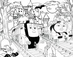 thomas tank engine christmas coloring pages games