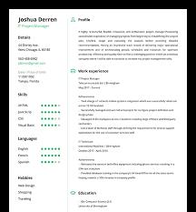 Easy Online Resume Builder Resume Builder Online Resume Builder