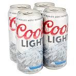 how many calories in a can of coors light calories in coors light lager 4 x 440ml nutrition information