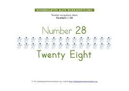 kindergarten math numbers 1 30 kindergarten math worksheets org