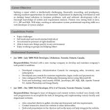 Excellent Good Resumes Examples by Download Good Resume Formats Haadyaooverbayresort With Regard To
