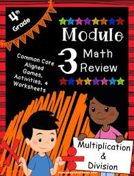 engage ny 4th grade module 3 review pack multiplication