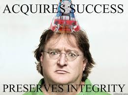 Gabe Newell Memes - meme who s as good as good guy gabe