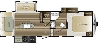Keystone Rv Floor Plans Cougar Travel Trailer Floor Plans Carpet Vidalondon