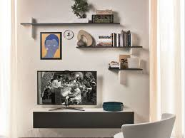 Wood Shelves Design by Wall Units Inspiring Wall Shelves With Tv Floating Shelves Around