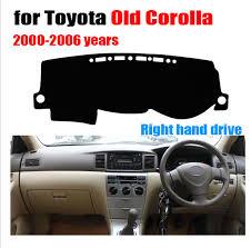 toyota corolla dash mat aliexpress com buy car dashboard cover mat for toyota