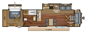 Park Model Travel Trailer Floor Plans 2018 Jay Flight Bungalow Travel Trailer Floorplans U0026 Prices