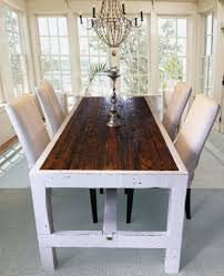 White Wood Dining Room Table by Beautiful White Living Room Have Narrow Dining Table White Chairs