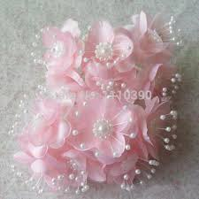 silk ribbon roses 4cm artificial flower satin ribbon roses heads silk wrist
