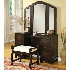 Narrow Vanity Table Bedroom Set With Makeup Vanity Trafficsafety Club