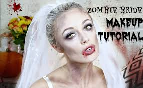 zombie bride halloween makeup tutorial fashion mumblr youtube