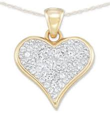 swarovski hearts necklace images Swarovski heart necklace shopstyle jpg