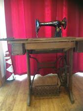Antique Singer Sewing Machine Table Singer Sewing Machines Sewing Ebay