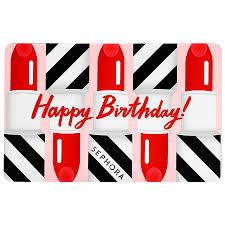 happy birthday gift card sephora collection sephora