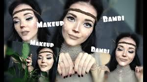 Bambi Halloween Makeup by