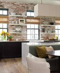 brick kitchen ideas best 25 white brick walls ideas on white bricks